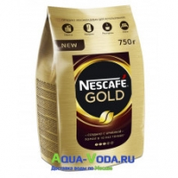 Кофе растворимый Nescafe Gold 750 г пачка
